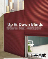 Wholesale 2014 New Rushed Top Fasion Included Sheer Curtains Honeycomb Blinds Day amp night Up amp Down Shade Sky For Windows Waterproof