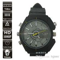 Cheap 8G watch camera Best 8G Waterproof 8GB 1080P mini dvr watch camera watch