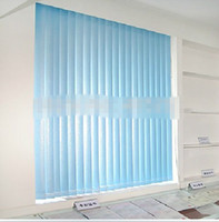 Wholesale 2014 New Vertical Blinds Shade Flax Half Shading Fabric