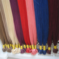 Cheap Premium Quality 1g strand 100strands Pack Color#613 Brazilian Virgin I Tip Hair Extension Free Shipping