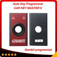 Wholesale Gambit programmer CAR KEY MASTER II Auto Transponder Key Programmer gambit RFID Tool