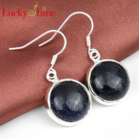 Free Shipping- - 925 sterling silver shine earrings for lady e...