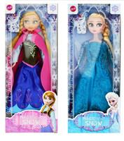 Wholesale New Cute Frozen Anna Elsa Mini Baby Doll Frozen Princesses Doll cm cm Action Figures Frozen Dolls