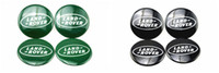 Wholesale 4X Car Accessories Ornament Wheel Center Landrover Hub Cap Stickers mm BLACK emblems