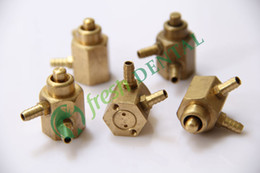 Wholesale Dental Foot pedal valve hole foot control switch valve circle chair integrated machine equipment dental materials