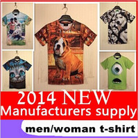 Wholesale 22 styles Factory Hot Summer Men s Women Italian Classic Vintage Painting T shirt Casual Street Wear Tshirt d Print Tees XXL