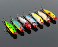 Wholesale Quality Fishing lures Popper Hard Baits Top Water Fishing Tackle Pesca CM G
