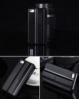 Metal gadgets - Fire Case Lighter Case Hard Protective Cigarette Lighter Smoking Gadget Cell Phone Case Cover With Lighter for iphone S