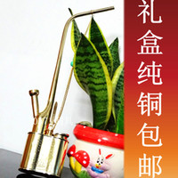 Plastic   Hookah upscale retro collection of copper brass hookahs water pipe hookah Tae weight 330g