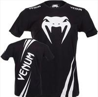 Wholesale MMA Fight tops man t shirt black