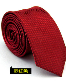 Fashion new unsex women and men polyester silk plaid dress ties skinny solid wedding tie business designer narrow pure color necktie lx001