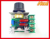 Wholesale 2pcs W ac v scr voltage regulator ac Electric Dimming Dimmers motor speed controller AC V