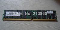 Wholesale GB DDR2 pin ECC reg PC2 CL4 DIMM server RAM R6446 Tested Working