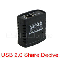 External USB 54Mbps 10pcs USB 2.0 Ethernet Networking LPR Print Server Share Hub Deceive Mini D2047A Alishow