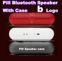 Wholesale Factory prices are retail box NFC pill Case amp wireless speaker speaker bluetooth stereo speakers hands free phones car