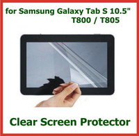 Wholesale 10pcs LCD Screen Protector for Samsung Galaxy Tab S T800 T805 Protective Film