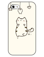 For Apple iPhone Plastic iphone 4s Wholesale New Fashion Simple Funny Cat Fishing Skin Durable Hard Plastic Mobile Protective Phone Case Cover For Iphone 4 4S 5 5S 5C 1pcs up