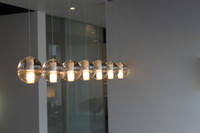 Wholesale New chandelier Bucci Fashion Led bulbs Meteor Shower Crystal Light Fixtures pendant Lamp Guaranteed100 round