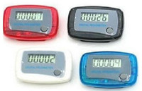 Wholesale Fashion Hot Electronic Mini Digital LCD Screen Step Run Pedometer Clip on Style Walking Calorie Fitness Timer