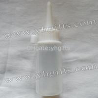 Wholesale 50PCS ml glue bottle Refillable bottles Soft squeezable Paint bottle Empty bottle Liquid tube