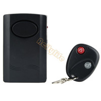 Wholesale HOT Selling Home Security Wireless Remote Control Vibration Alarm for Door Window DB Alarm Sound Drop Shipping