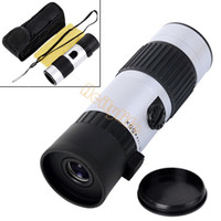 Wholesale Hot x21mm Mini Telescope Adjustable Day Night Monocular Zoom Scope Sports Hunting Concert Spotting Dropshipping