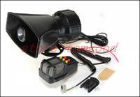 Wholesale Time limited Real One Way v Vehicle van truck car Sound Tone Loud Horn Siren Max300db Alarm Speaker Microphon Pa System