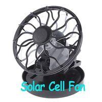 Pedestal solar fan - 5pcs Clip on Solar Cell Fan Sun Power Energy Panel Cooling Cooler H138