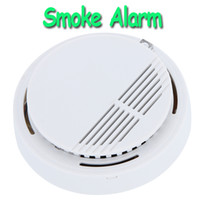 Wholesale High Sensitivity Stable Photoelectric Smoke Alarm Fire Smoke Detector Sensor Home Security System for Home H9487