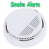 Sistema de seguridad del <b>sensor</b> del detector de alta sensibilidad Inicio Estable humo fotoeléctrico de humo alarma de incendio para el hogar H9487