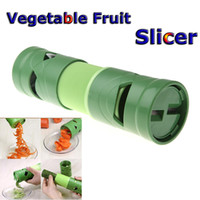 kitchen utensils - Kitchen Accessories Tool Cooking Tools Compact Vegetable Fruit Twister Spiral Cutter Slicer Utensil Processing Device H10921