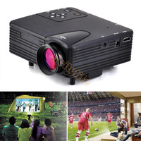 Wholesale High Quality Mini LED Projector Digital Video Projectors Multimedia Player Home Theater With HDMI AV TV VGA SD USB B2 OS000438
