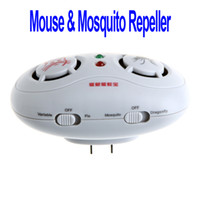 Wholesale 2 in Electronic Ultrasonic Mouse Mosquito Repeller US Standard H8754