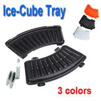 Wholesale 10pcs Bullet Shaped Ice Cube Tray Jelly Pudding Mould for Killer Cocktails Drinks Food Grade Colors H9563