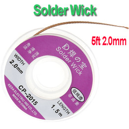 Wholesale 5ft mm Desoldering Braid Solder Remover Wick Dropshipping H8731