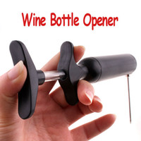 Wholesale Vacuum Needle Pump Set Mess Free Wine Bottle Opener H1103B