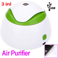 aroma air humidifier - Newest Portable Mini USB Humidifier Air Purifier Aroma Diffuser for Home Room Car H9307