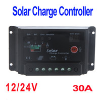 solar battery charge controller - 30A V Solar Panel Battery Charge Controller Regulator Light H9753