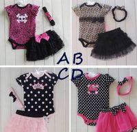 Cheap Girl clothing set Best Summer Cotton Blends baby set