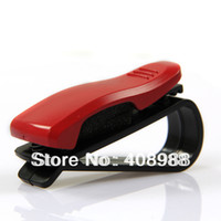 Cheap On Sale Red Vehicle Auto Car Sun Visor Glasses Sunglasses Holder Clip Ticket Clip