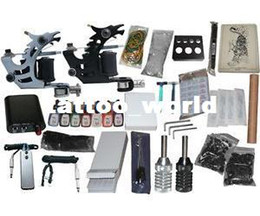 Wholesale USA Dispatch_NEW Professional Machines Tattoo KIT Machine GUN Equipment INK GUN SET US0005