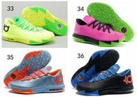 Mid Cut Men Summer free shipping KD 6 Men Basketball Shoes KD VI Elite Kevin Durant shoes sports sneakers for sale