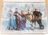 Wholesale Hot Sale New Frozen Puzzle Anna Elsa Princess Olaf Cartoon Jigsaw Puzzle For Children Adults Toys Novelty Gifts