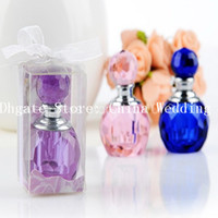 Wholesale A Set Crystal Love Perfume Bottle Wedding Party Favors Accessory Gifts Wedding Decration