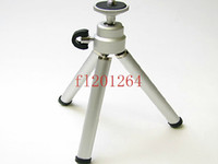 Wholesale Digital Camera Mini Tripod Aluminum Metal Lightweight Tripod Monopod Fedex DHL
