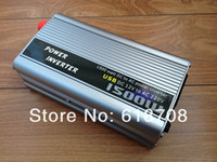 Wholesale 1 KW W Watt Modified Sine Wave Power Inverter Home Car DC V to AC V Converter USB