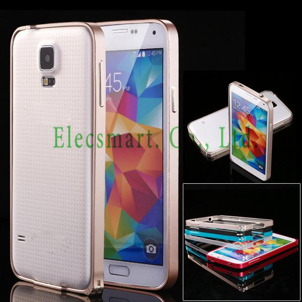 Buy Galaxy S5 Ultra Thin 0.7 MM Deluxe Metal Aluminum Frame Bumper Case Samsung SV G900 i9600