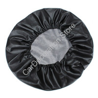 Wholesale 25 quot Universal Spare Wheel Tire Tyre Cover Custom Fit Spare Tire Cover