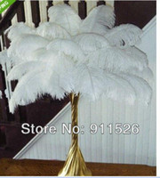 aa craft - New Arrival cm inches Ostrich Feather Plume DIY Craft For Christmas Wedding Party Table Decoration AA Grade