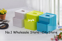 Wholesale Householde fashion Multi function paper towel box Creative Paper towel Napkin bins Tissue box Canister